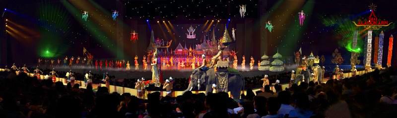 Алангкарн Шоу, Таиланд