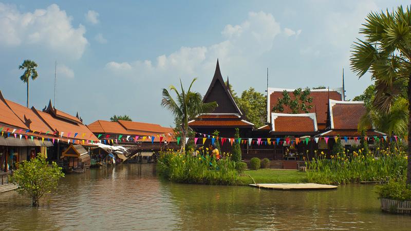 Ayutthaya. Аюттхая. Плавучий рынок