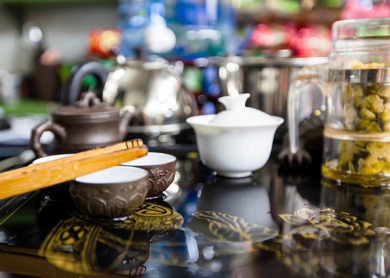 Чайный домик. Дегустация чая