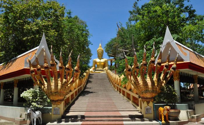 Достопримечательности Тайланда - Будда Хилл в Паттайе