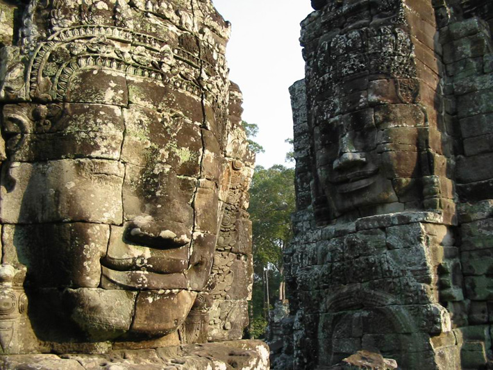 Древний город Ангкор, храм Байон