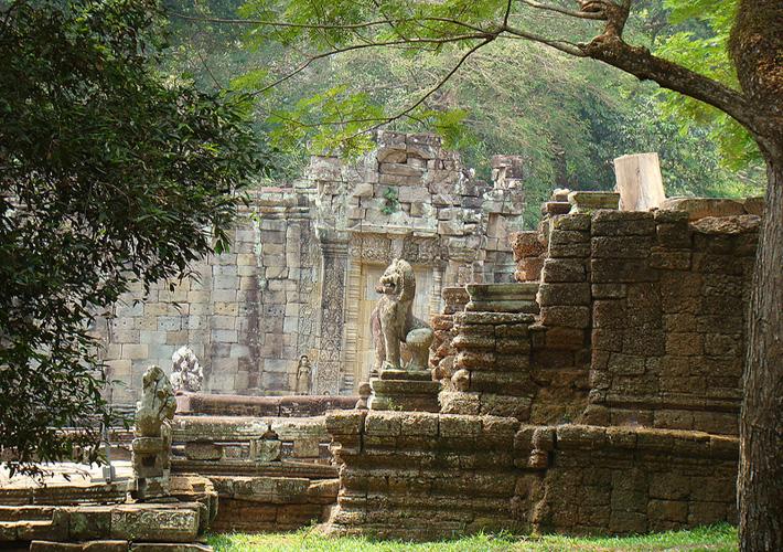 Древний город Ангкор, храм Преа Хан