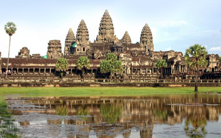 Древний город Ангкор, храмовый комплекс Ангкор Ват