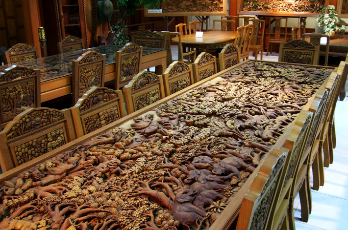 Фабрика изделий из тикового дерева