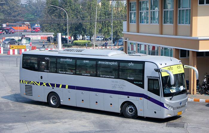 Как добраться из Бангкока в Пхукет на автобусе