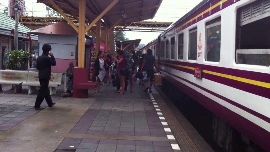 Как добраться из Бангкока в Пхукет на поезде