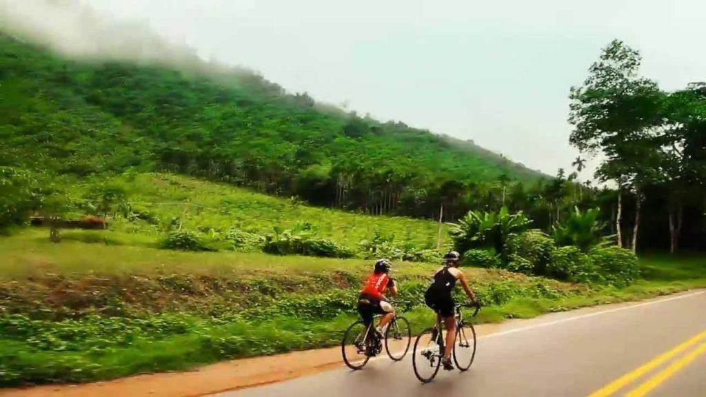 Как добраться из Бангкока в Пхукет на велосипеде