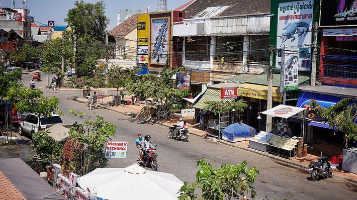 Камбоджа, город Сием Рип