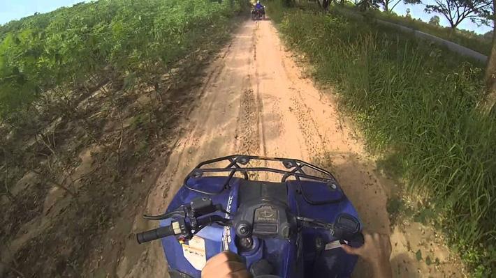 Катание на квадроциклах в Тайланде