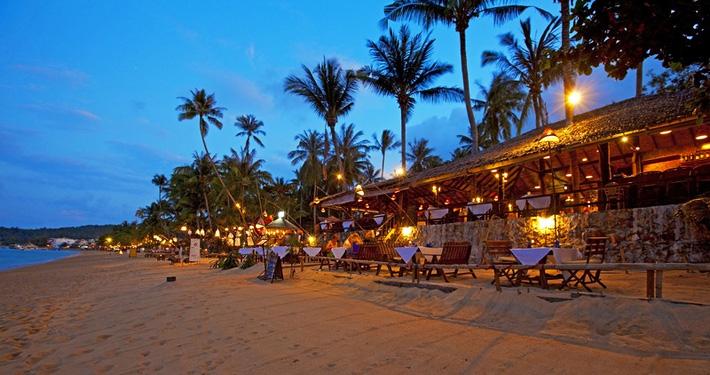 Острова Самуи (Koh Samui) ночью