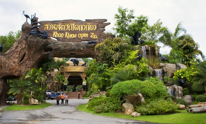 Зоопарк Кхао Кхео в Таиланде, Паттайя
