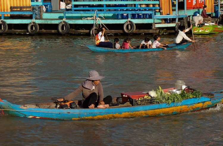 аферы в Камбодже