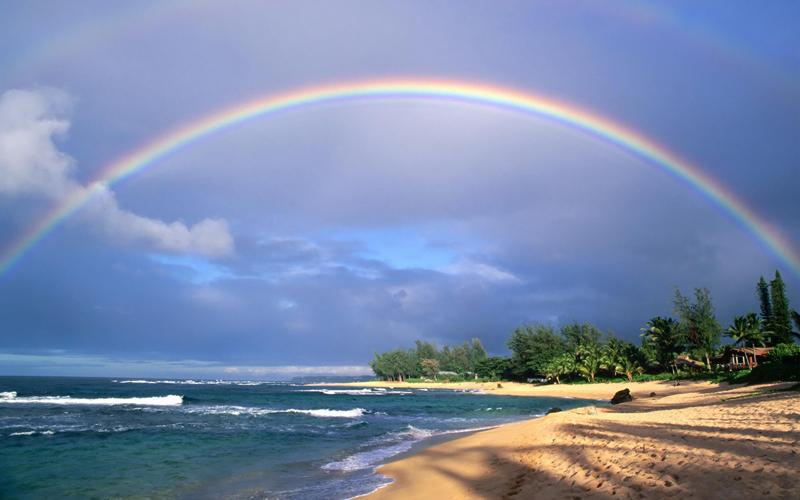 Погода в Тайланде - радуга
