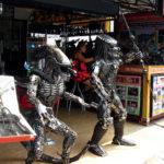 Скульптуры из металлолома ScrapMetal Artwork