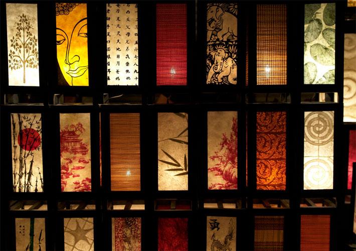 Светильники и ночники с росписью