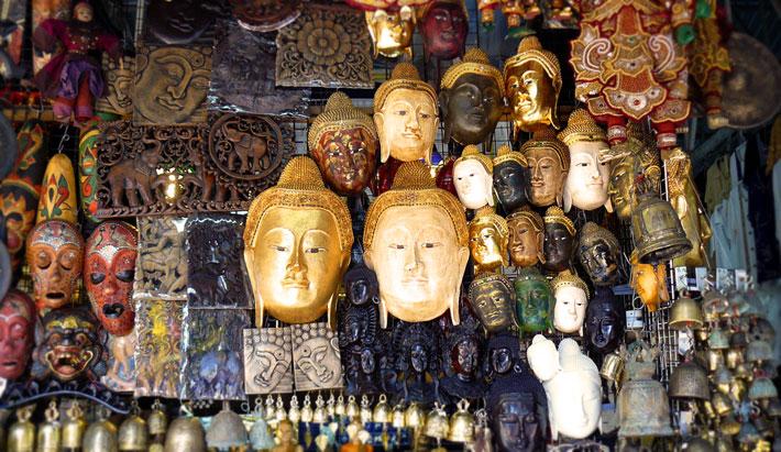 Тайские сувениры и маски