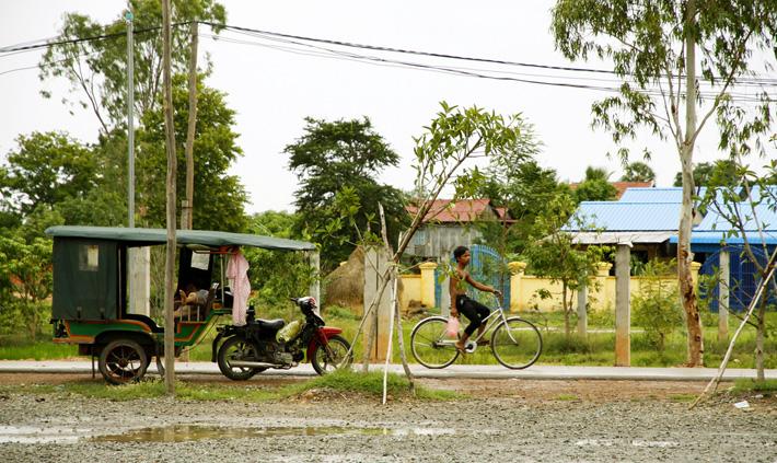 Типичный ландшафт Камбоджи