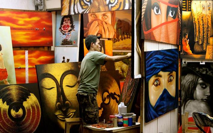 Живопись, картины тайских художников