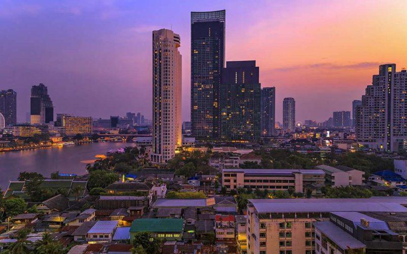 Бангкок на рассвете