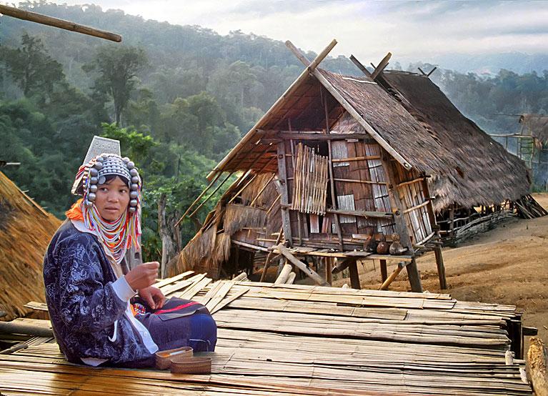 дикие племена тайланд