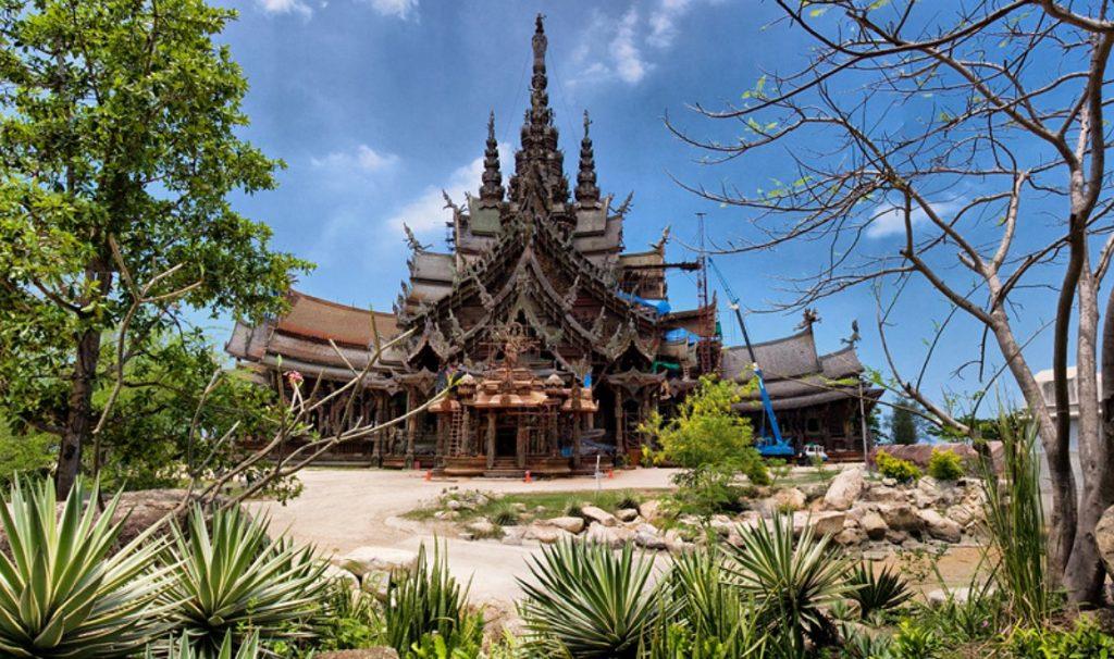 Храм Истины Таиланд