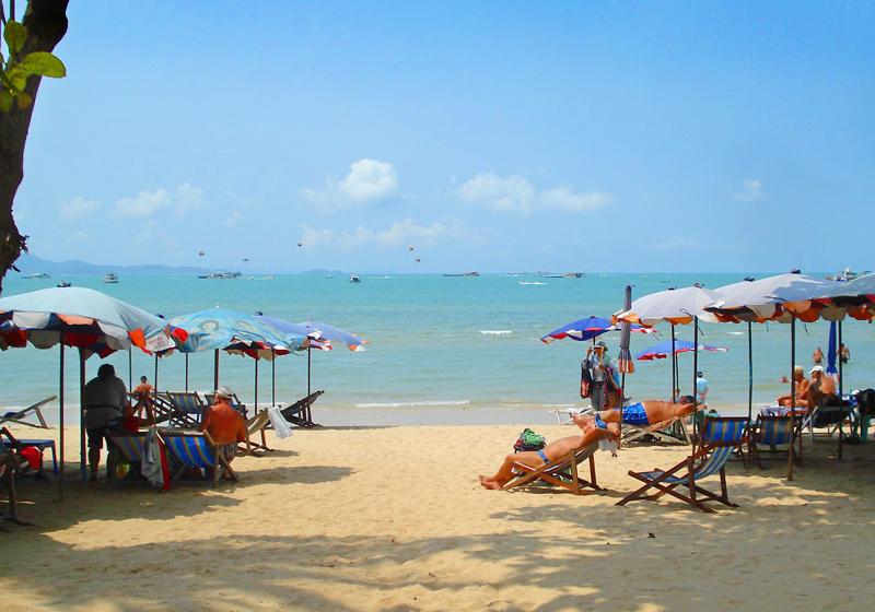 пляж Паттайя (Pattaya)