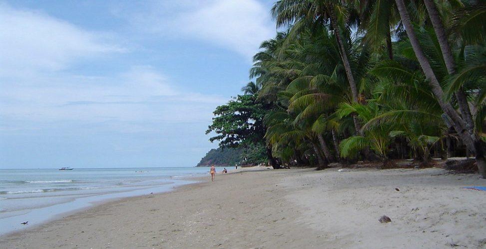 Пляж White Sand beach на Koh Chang