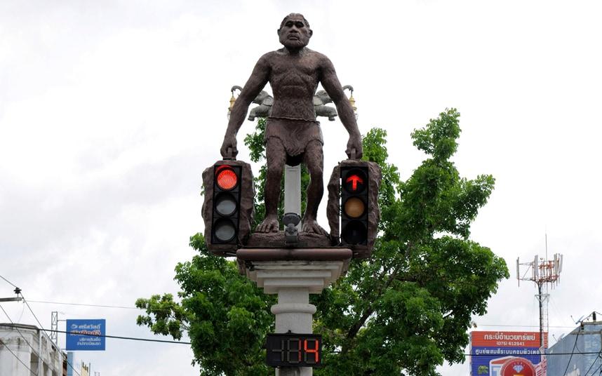 Город Краби - светофор