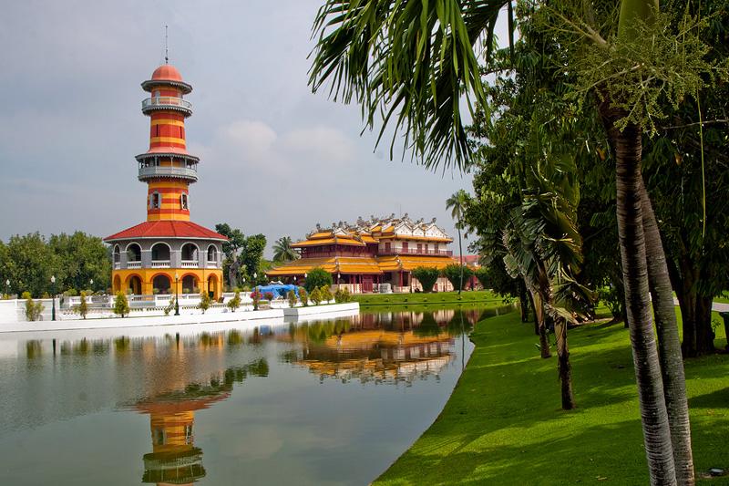 Аюттхая - древняя столица. Ayutthaya. Королевская резиденция Бан Па Инь