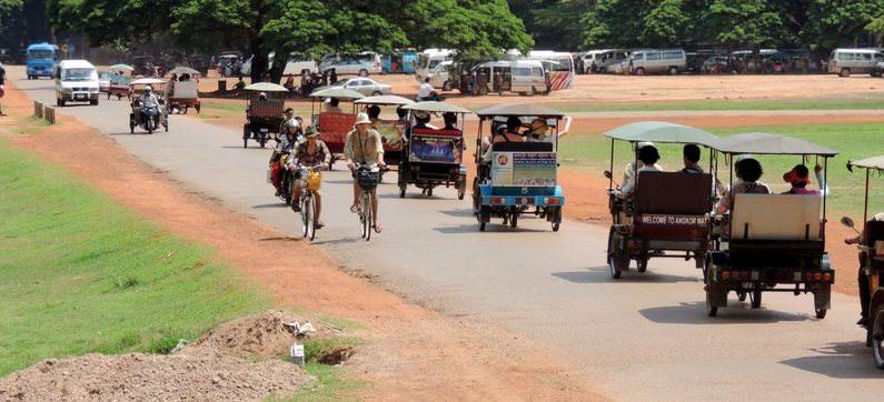 аферы с тук-тук в Камбодже