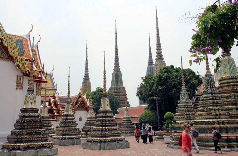 Ват Пхо - буддийский храмовый комплекс в районе Пхра Накхон, Бангкок