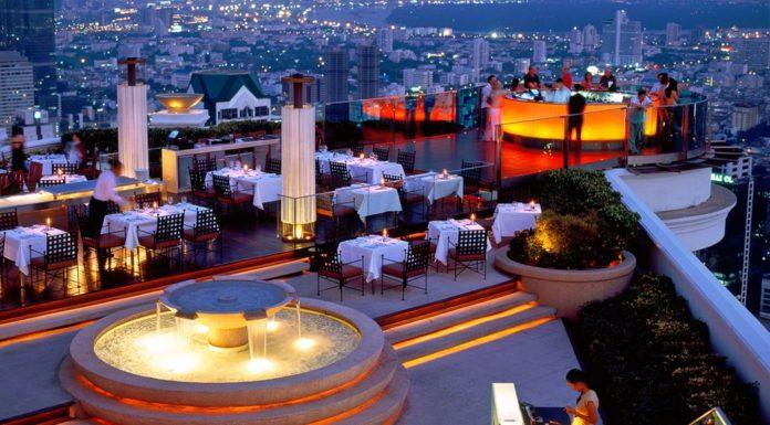 Ресторан Сирокко (Sirocco Restaurant) в Бангкоке