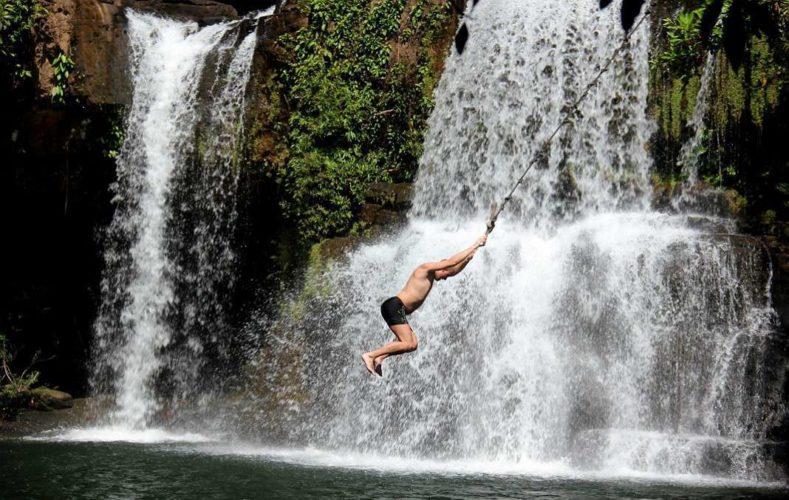 Водопад Клонг Чао и качели на верёвке