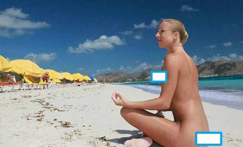 На пляже в Таиланде